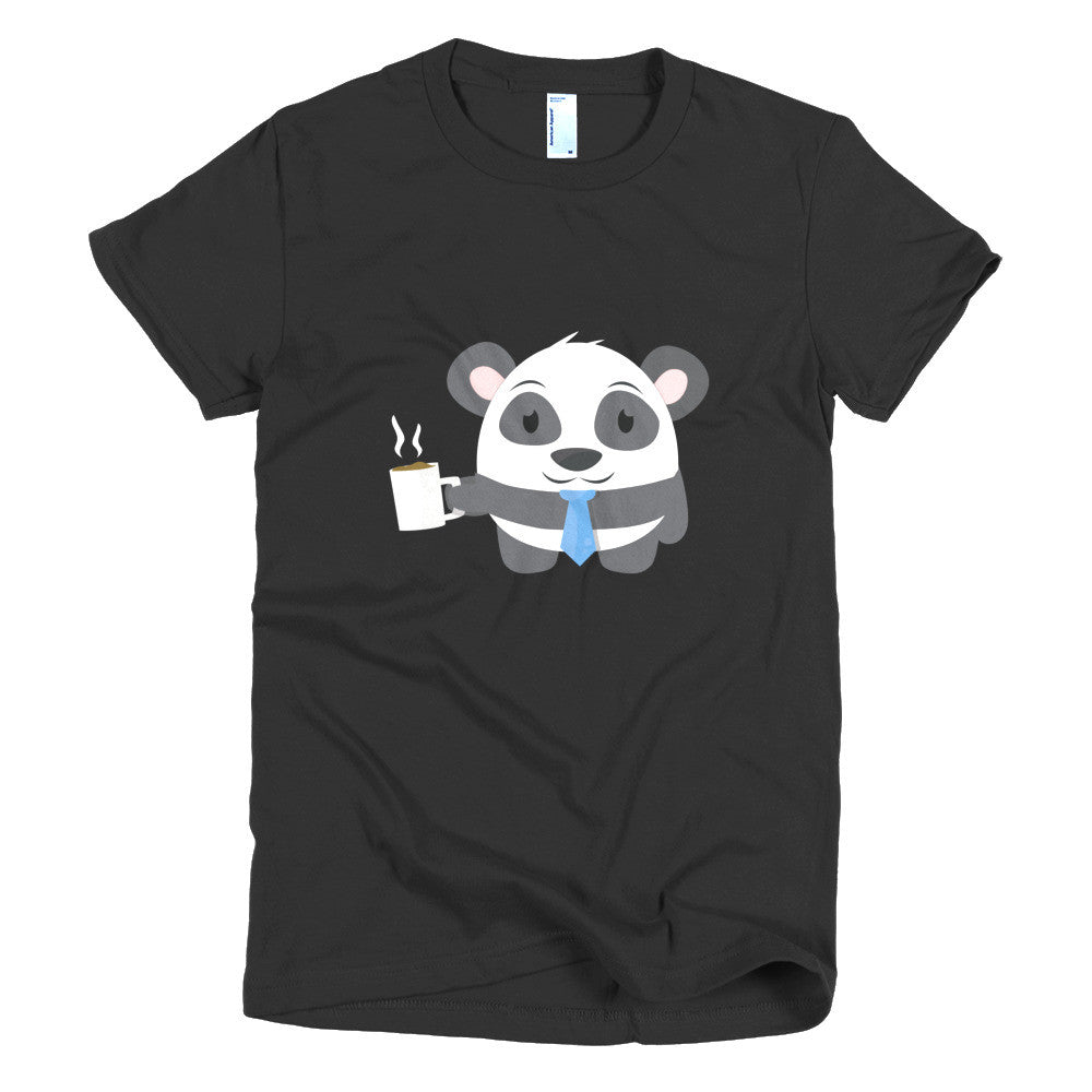 Office Panda - Short sleeve women's t-shirt