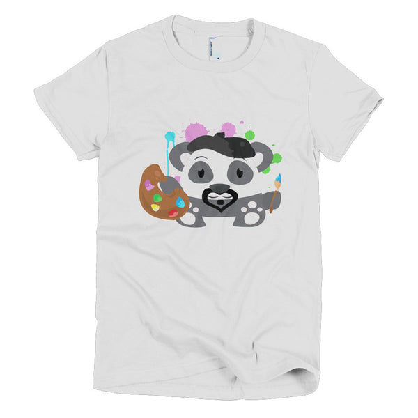 Leonardo Panda - Short sleeve women's t-shirt