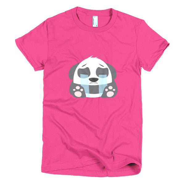 Sad Panda - Short sleeve women's t-shirt