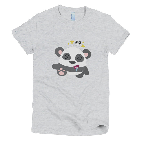 KO Panda - Short sleeve women's t-shirt