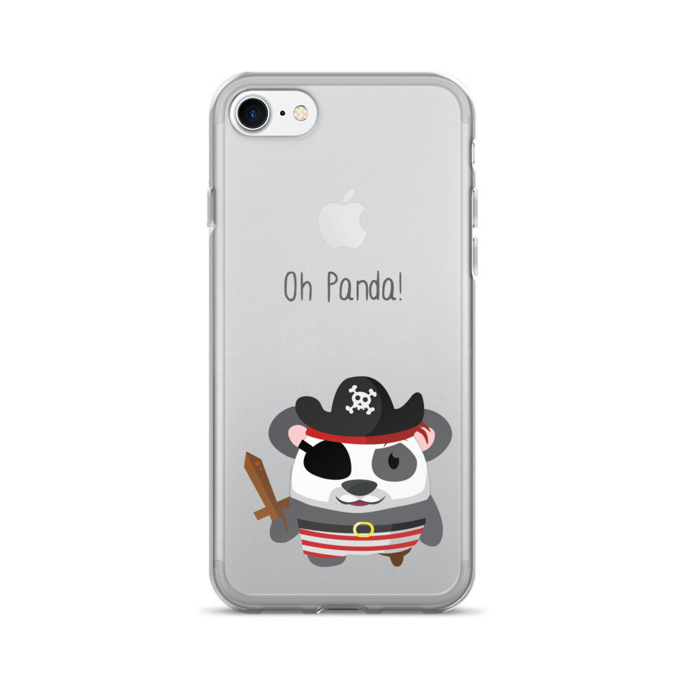 Pirate Panda - iPhone 7/7 Plus Case