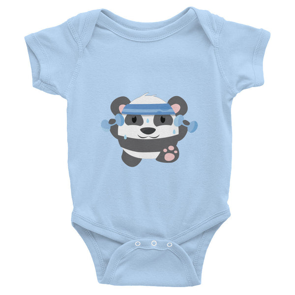 Fitness Panda - Baby short sleeve one-piece