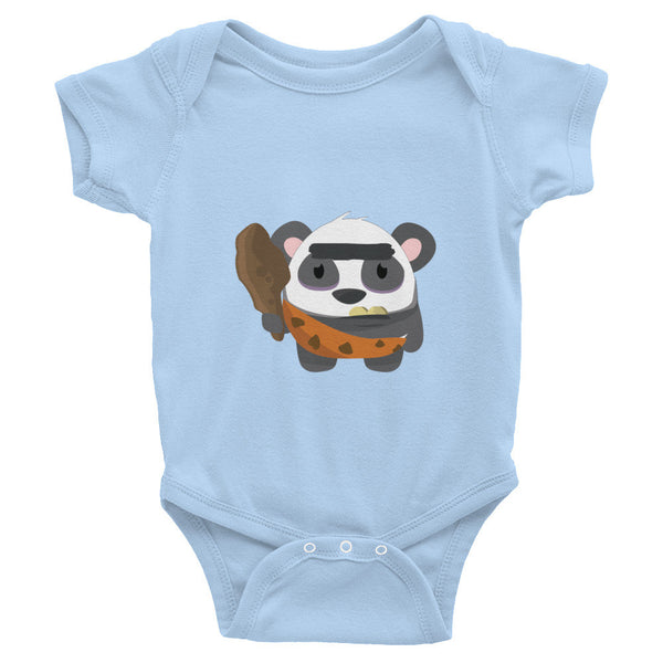Cave Panda - Baby short sleeve one-piece