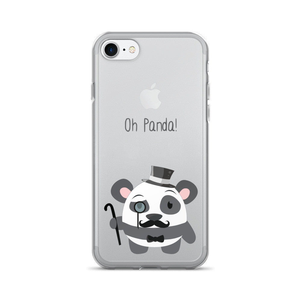 Gentleman Panda - iPhone 7/7 Plus Case