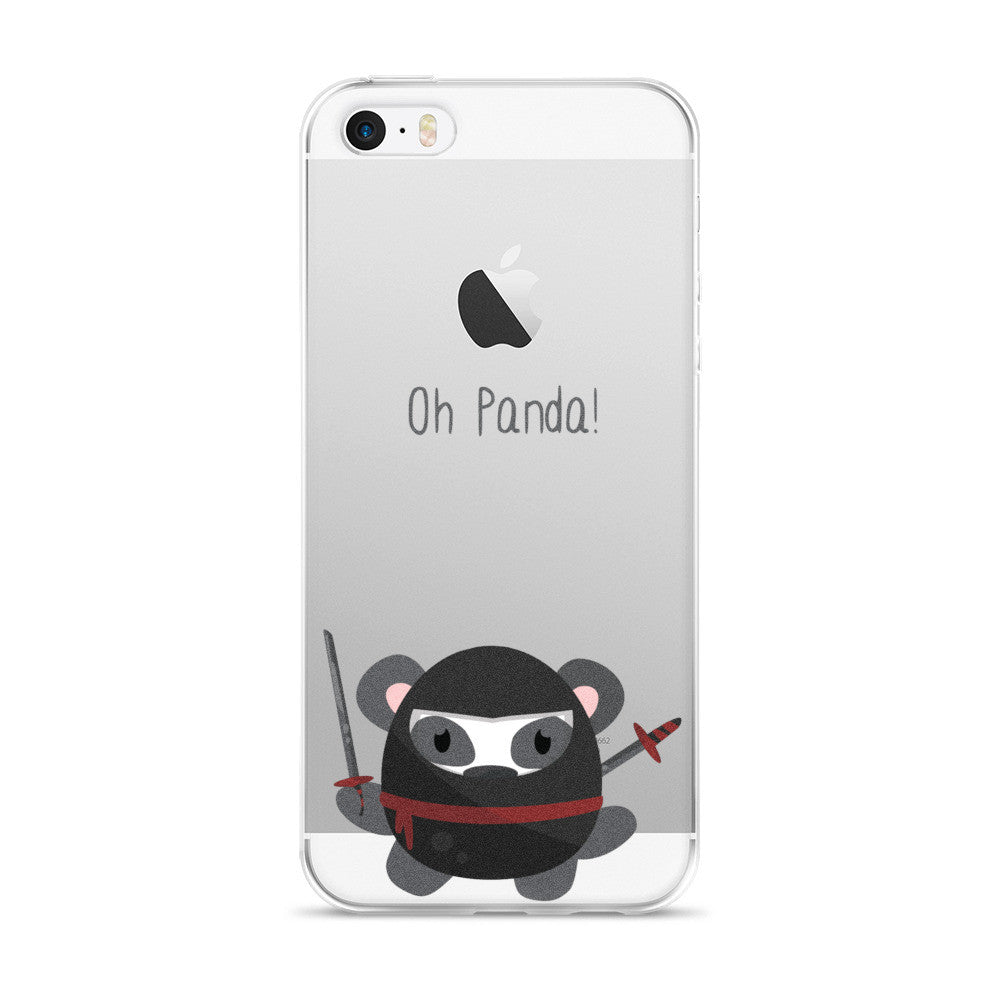 Ninja Panda - iPhone 5/5s/Se, 6/6s, 6/6s Plus Case