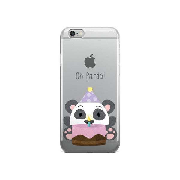 Birthday Panda - iPhone 5/5s/Se, 6/6s, 6/6s Plus Case
