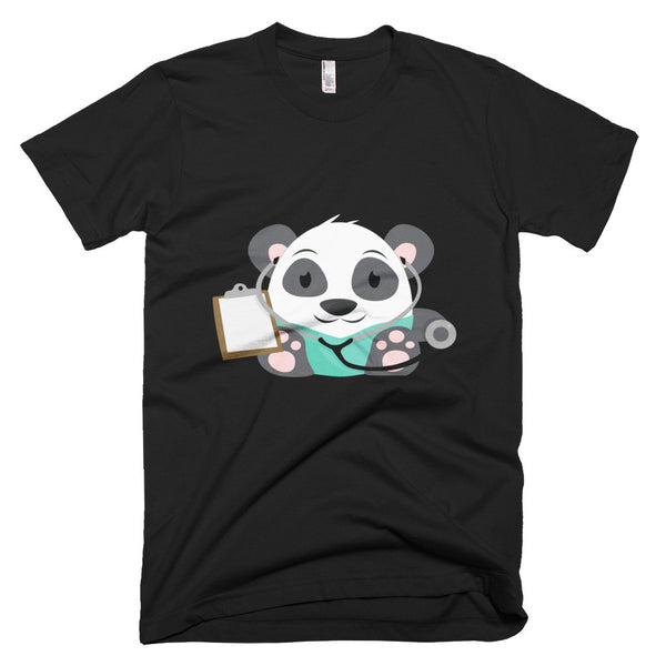 Doctor Panda - Short sleeve men's t-shirt