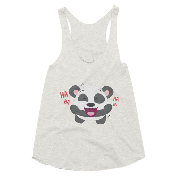 Laughing Panda - Women's racerback tank