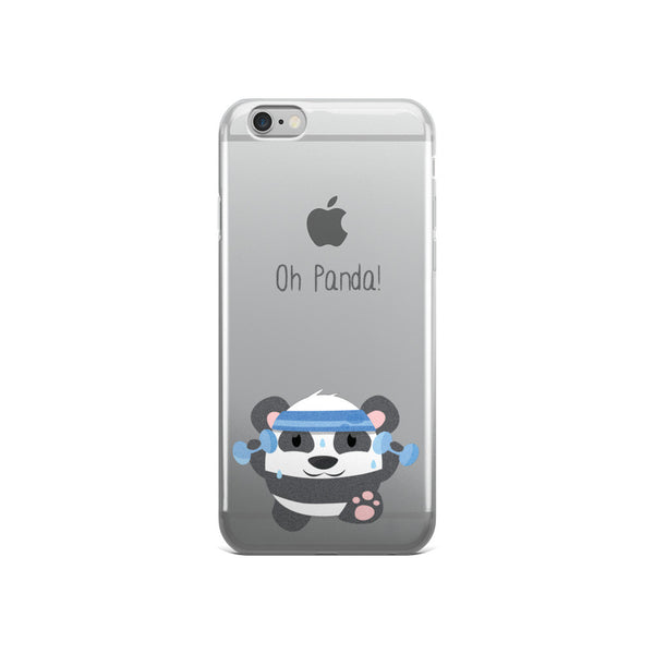 Fitness Panda - iPhone 5/5s/Se, 6/6s, 6/6s Plus Case