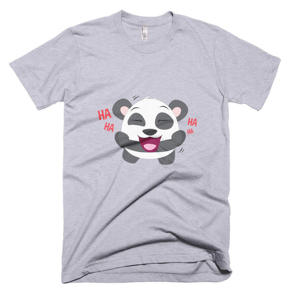 Laughing Panda - Short sleeve men's t-shirt