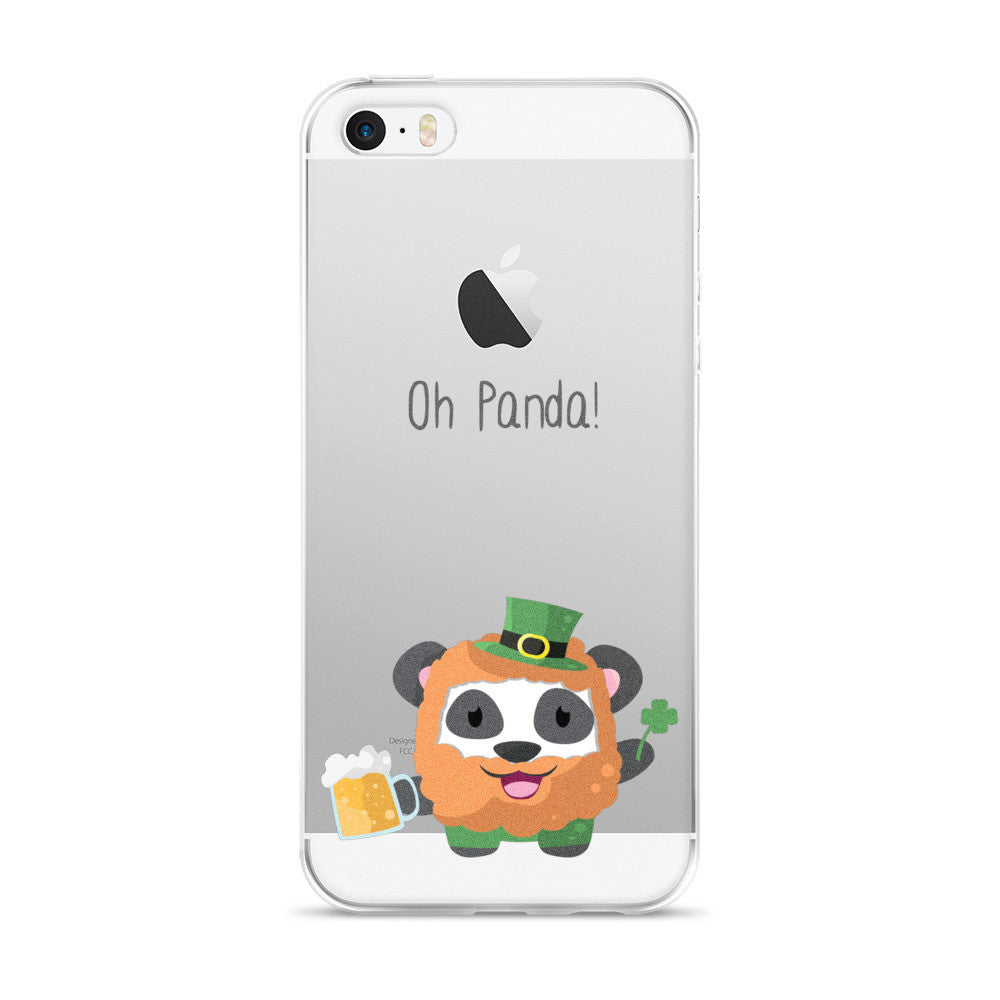 Irish Panda - iPhone 5/5s/Se, 6/6s, 6/6s Plus Case