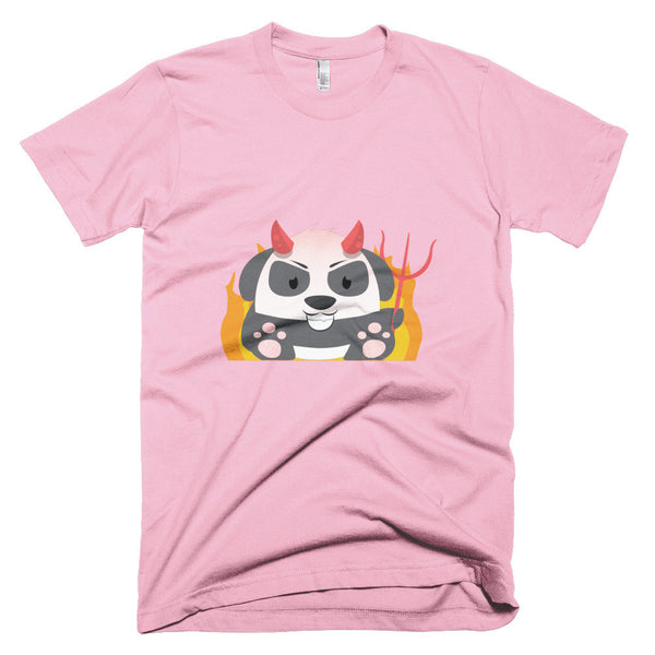 Evil Panda - Short sleeve men's t-shirt