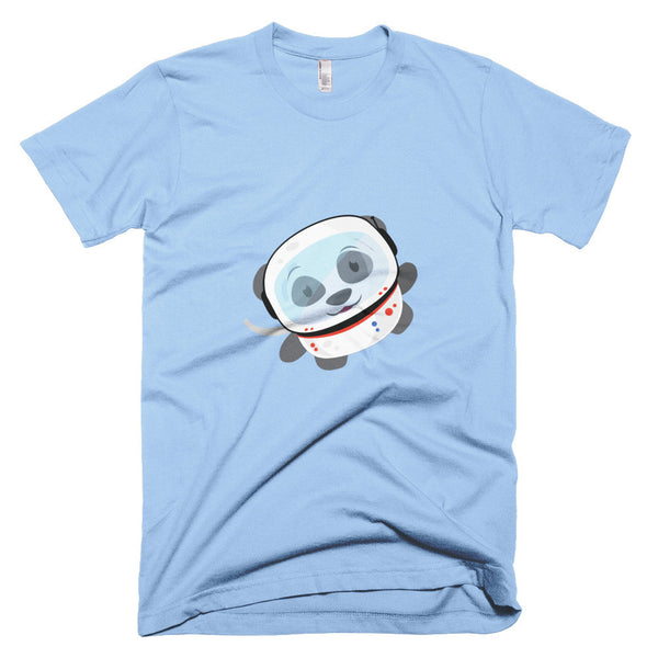 Space Panda - Short sleeve men's t-shirt