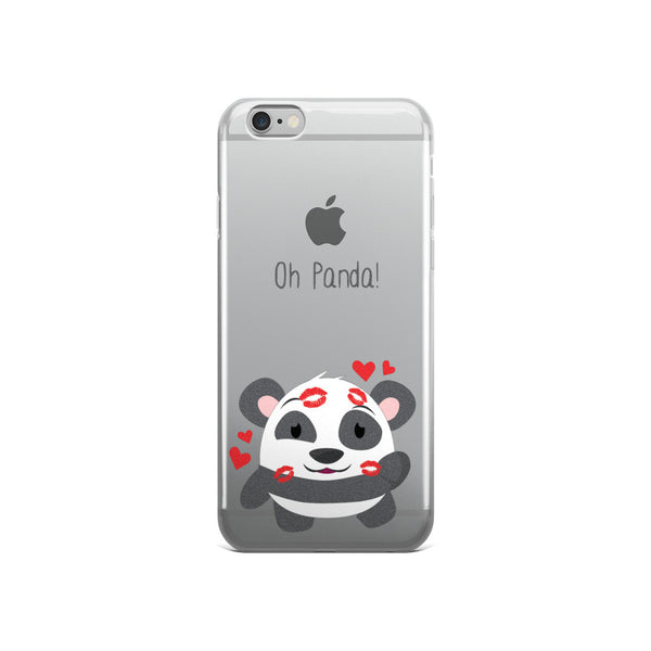 Kiss Panda - iPhone 5/5s/Se, 6/6s, 6/6s Plus Case