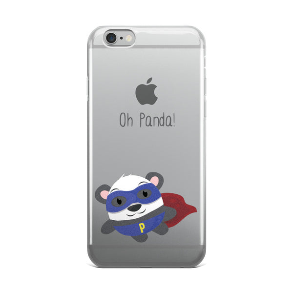 Super Panda - iPhone 5/5s/Se, 6/6s, 6/6s Plus Case