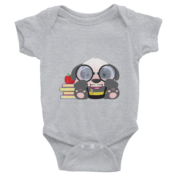 Nerd Panda - Baby short sleeve one-piece