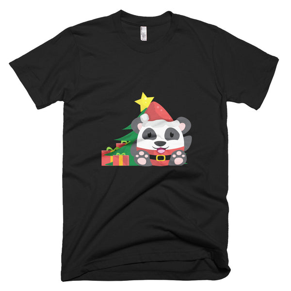 Santa Panda - Short sleeve men's t-shirt