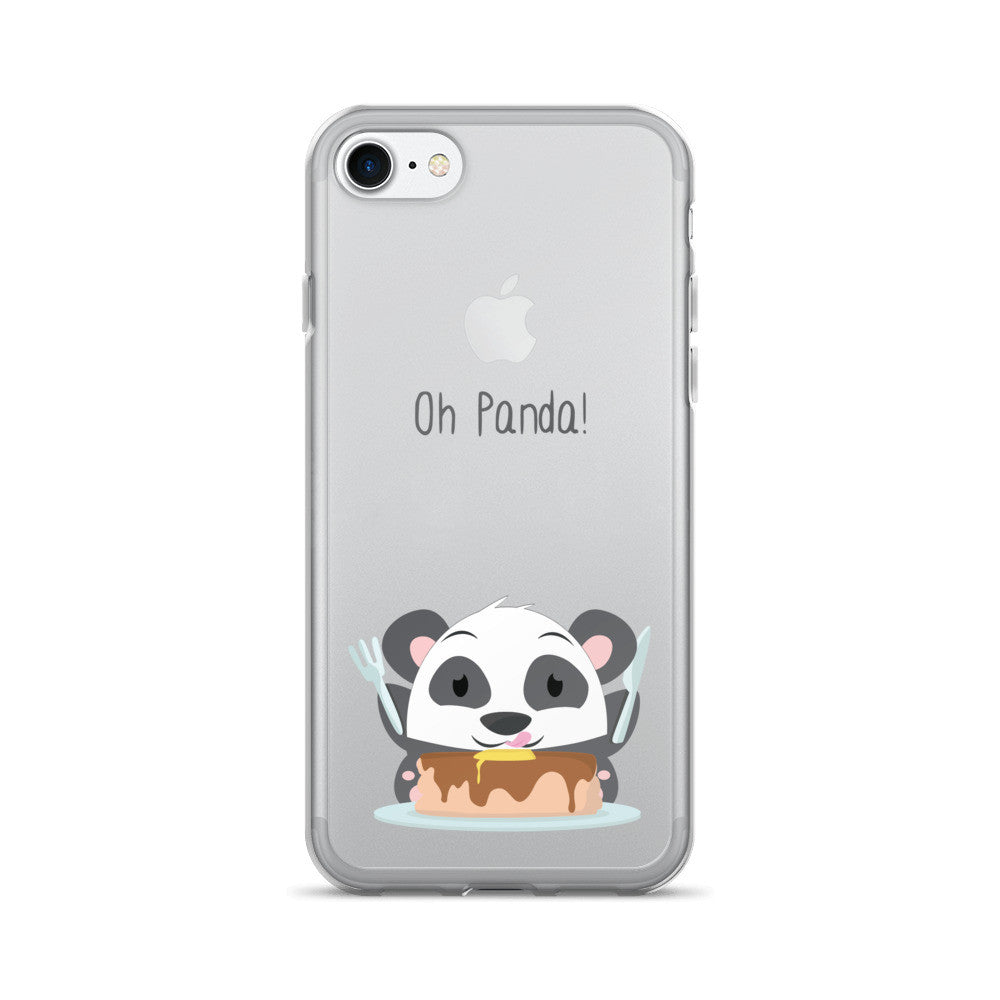 Pancakes Panda - iPhone 7/7 Plus Case