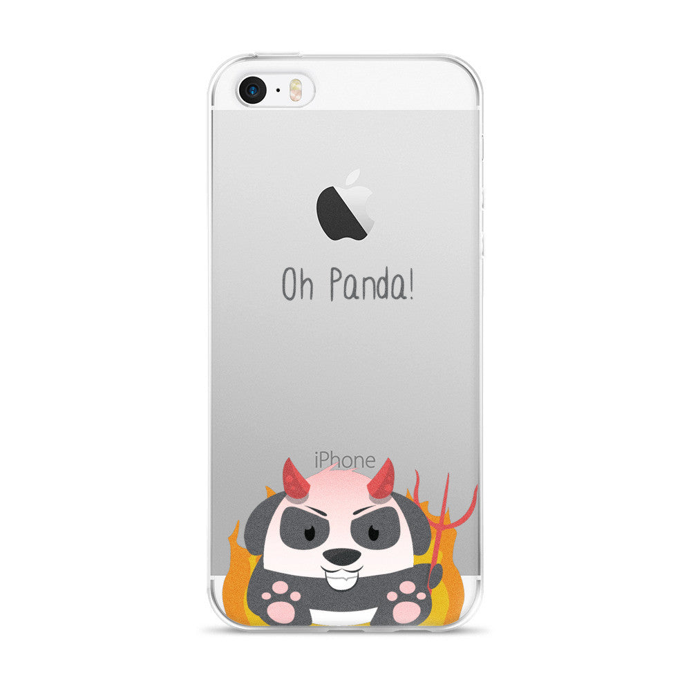 Evil Panda - iPhone 5/5s/Se, 6/6s, 6/6s Plus Case