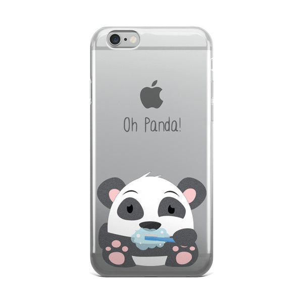 Clean Teeth Panda - iPhone 5/5s/Se, 6/6s, 6/6s Plus Case