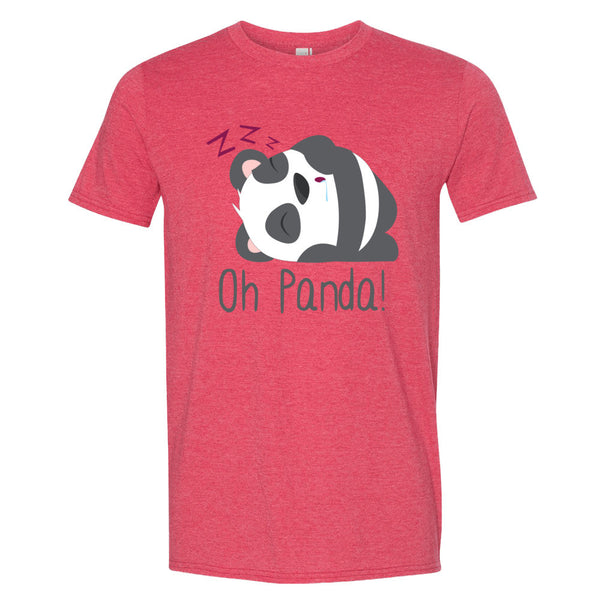 Pink T-Shirt - Sleep - Oh Panda!