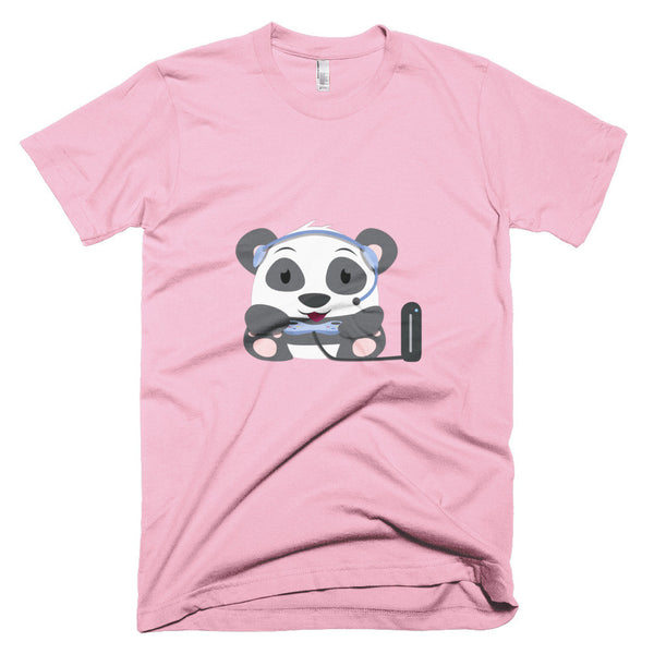 Gamer Panda - Short sleeve men's t-shirt