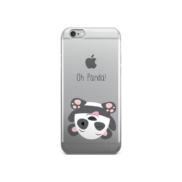 Silly Panda - iPhone 5/5s/Se, 6/6s, 6/6s Plus Case