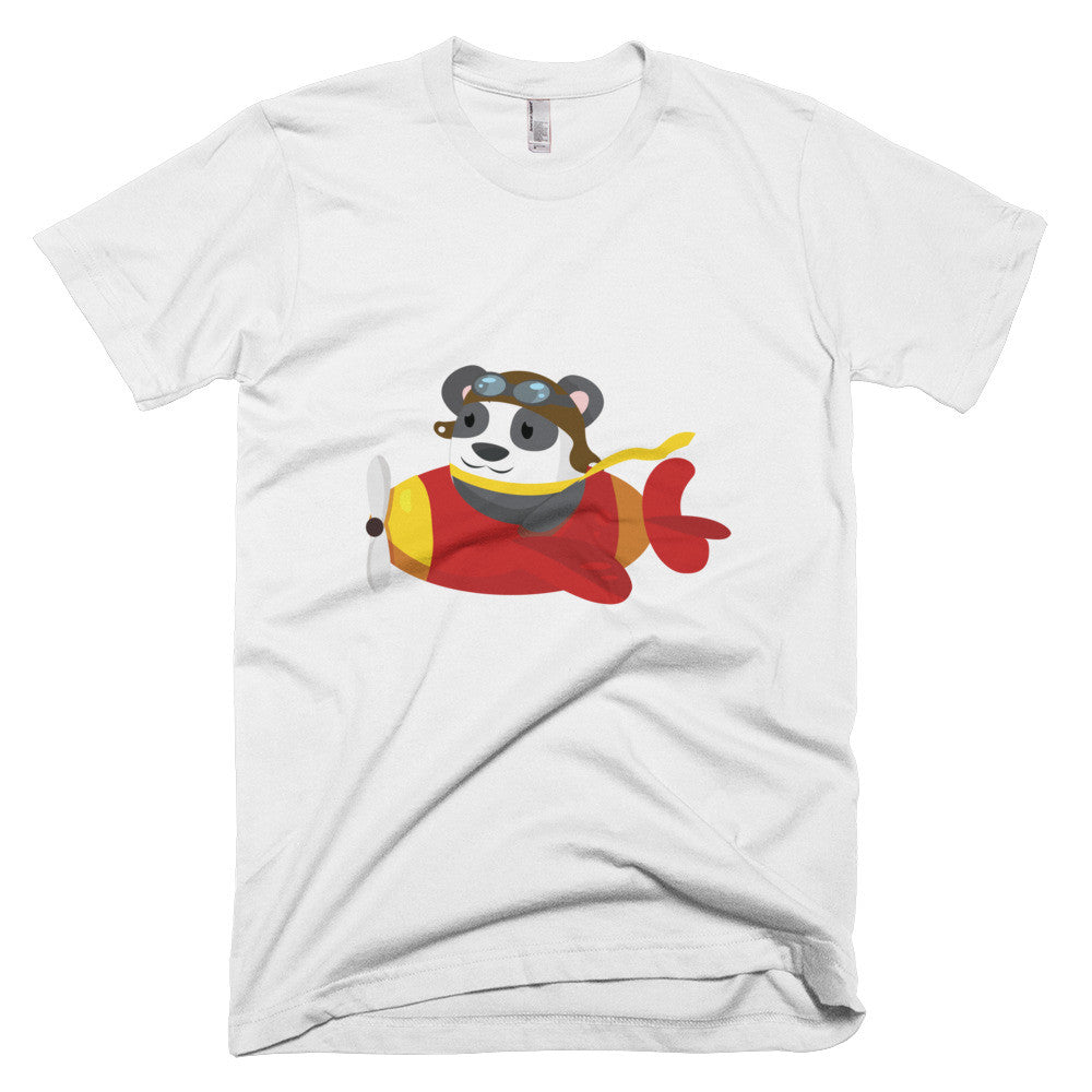 Flying Panda - Short sleeve men's t-shirt