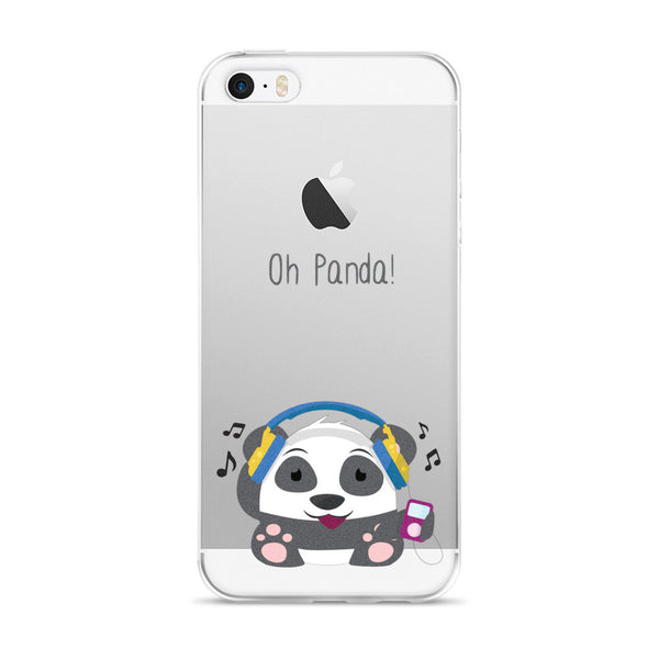 DJ Panda - iPhone 5/5s/Se, 6/6s, 6/6s Plus Case