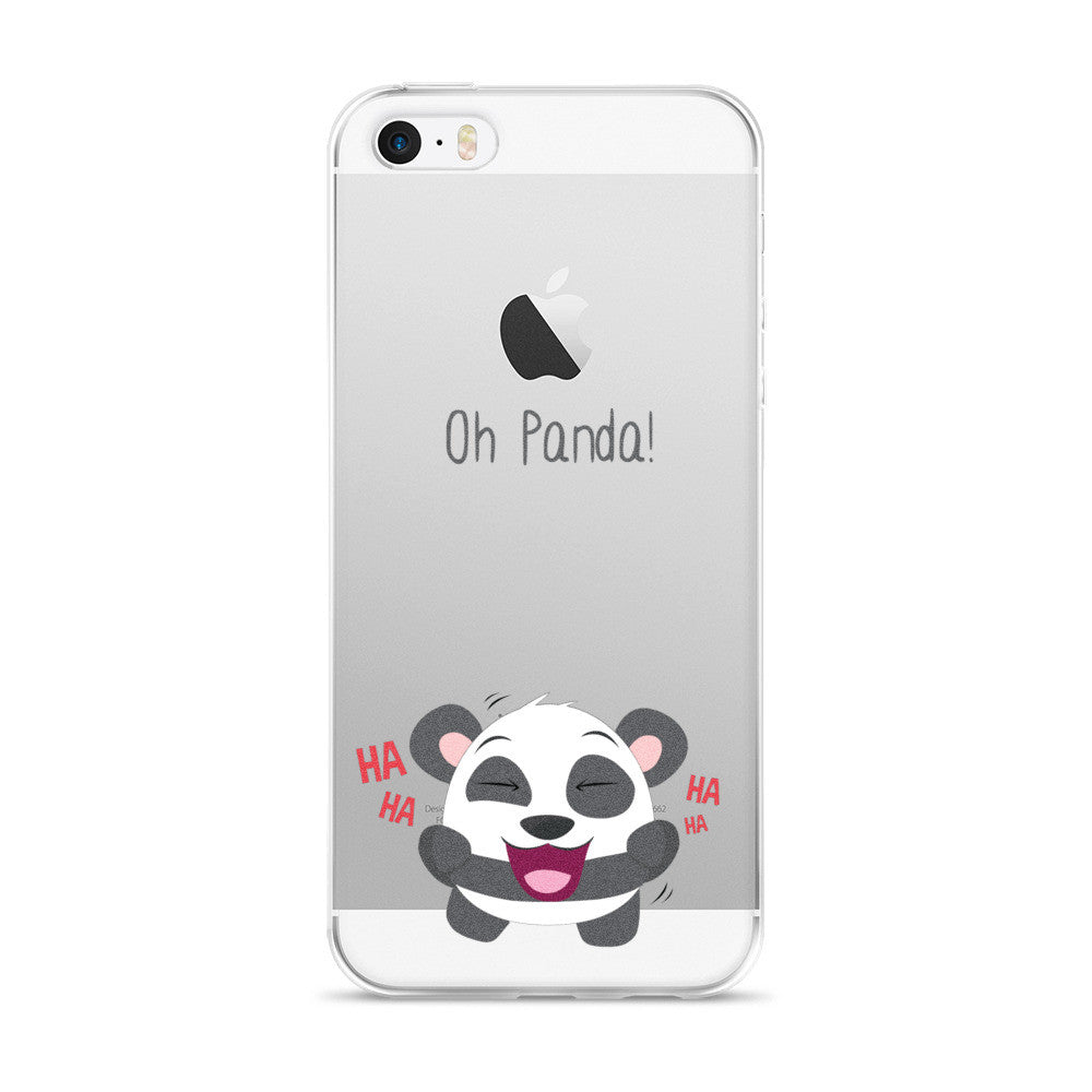 Laughing Panda - iPhone 5/5s/Se, 6/6s, 6/6s Plus Case
