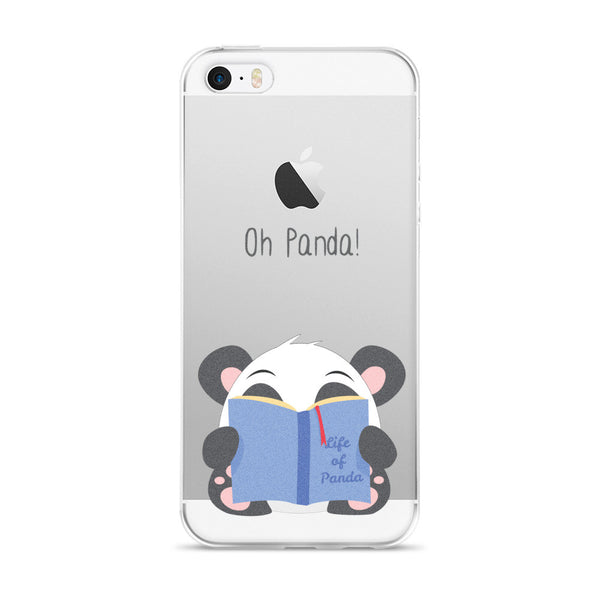 Reading Panda - iPhone 5/5s/Se, 6/6s, 6/6s Plus Case