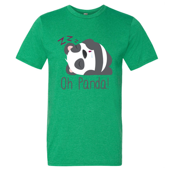 Green T-Shirt - Sleep - Oh Panda!