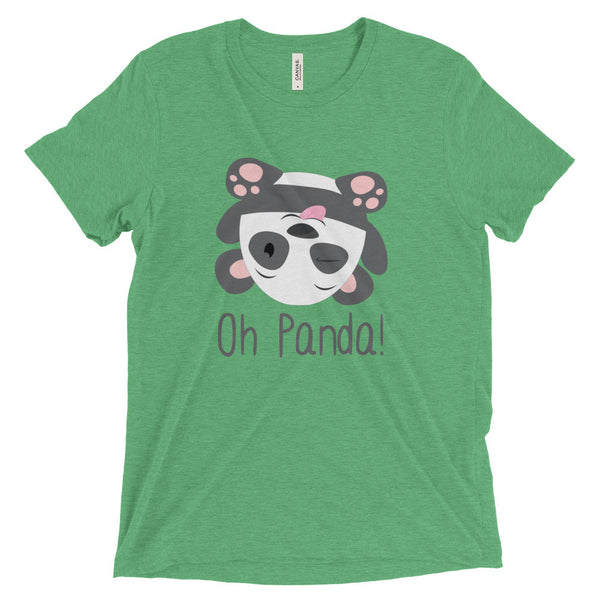 Green Loose T-Shirt - Silly - Oh Panda!