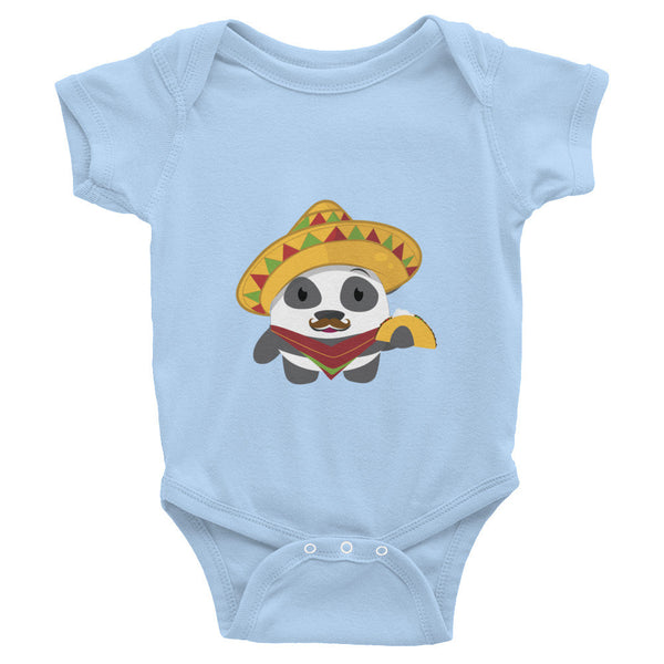 Mexican Panda - Baby short sleeve one-piece