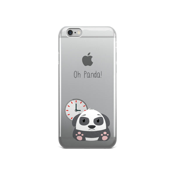 Clock Panda - iPhone 5/5s/Se, 6/6s, 6/6s Plus Case