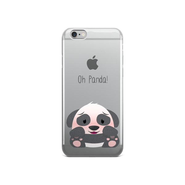 Kawaii Panda - iPhone 5/5s/Se, 6/6s, 6/6s Plus Case