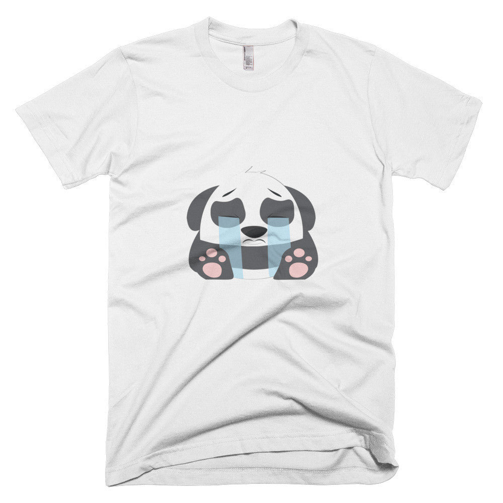 Crying Panda - Short sleeve men's t-shirt