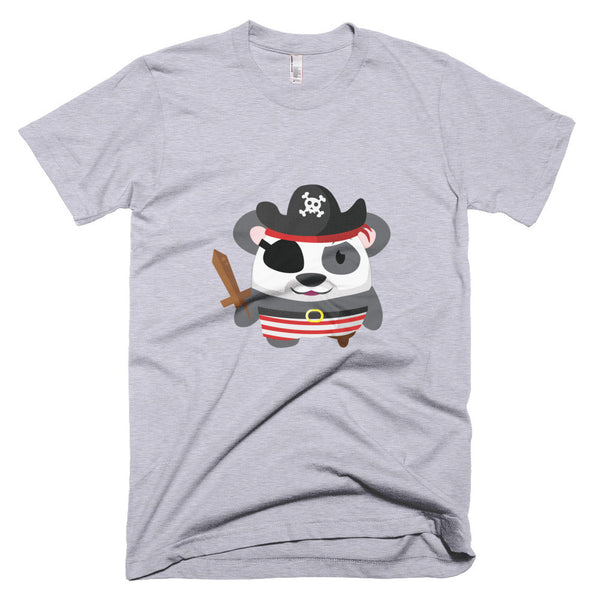 Pirate Panda - Short sleeve men's t-shirt