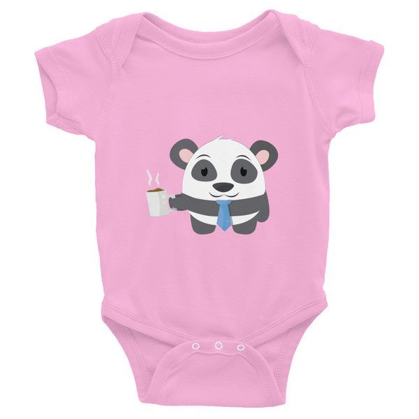 Office Panda - Baby short sleeve one-piece