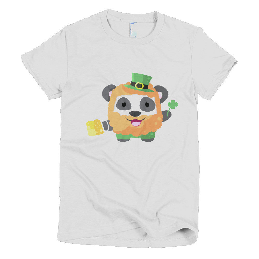 Irish Panda - Short sleeve women's t-shirt