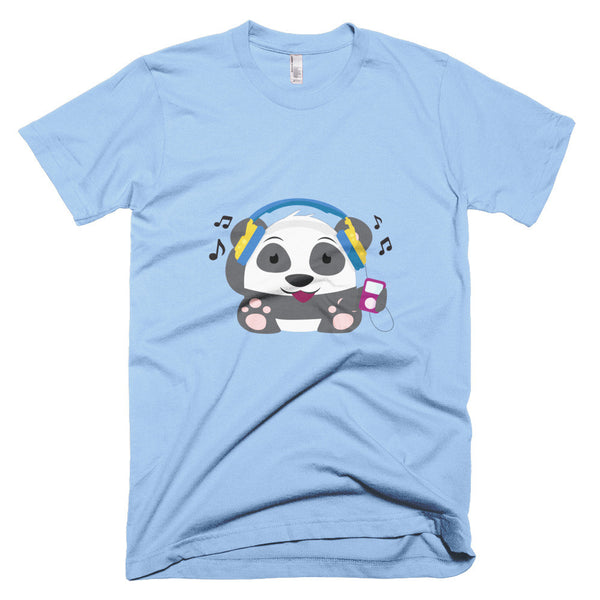 DJ Panda - Short sleeve men's t-shirt