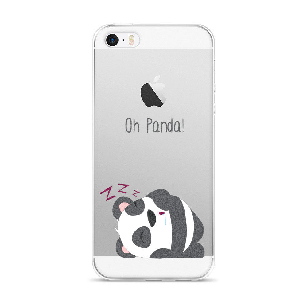 Sleeping Panda - iPhone 5/5s/Se, 6/6s, 6/6s Plus Case