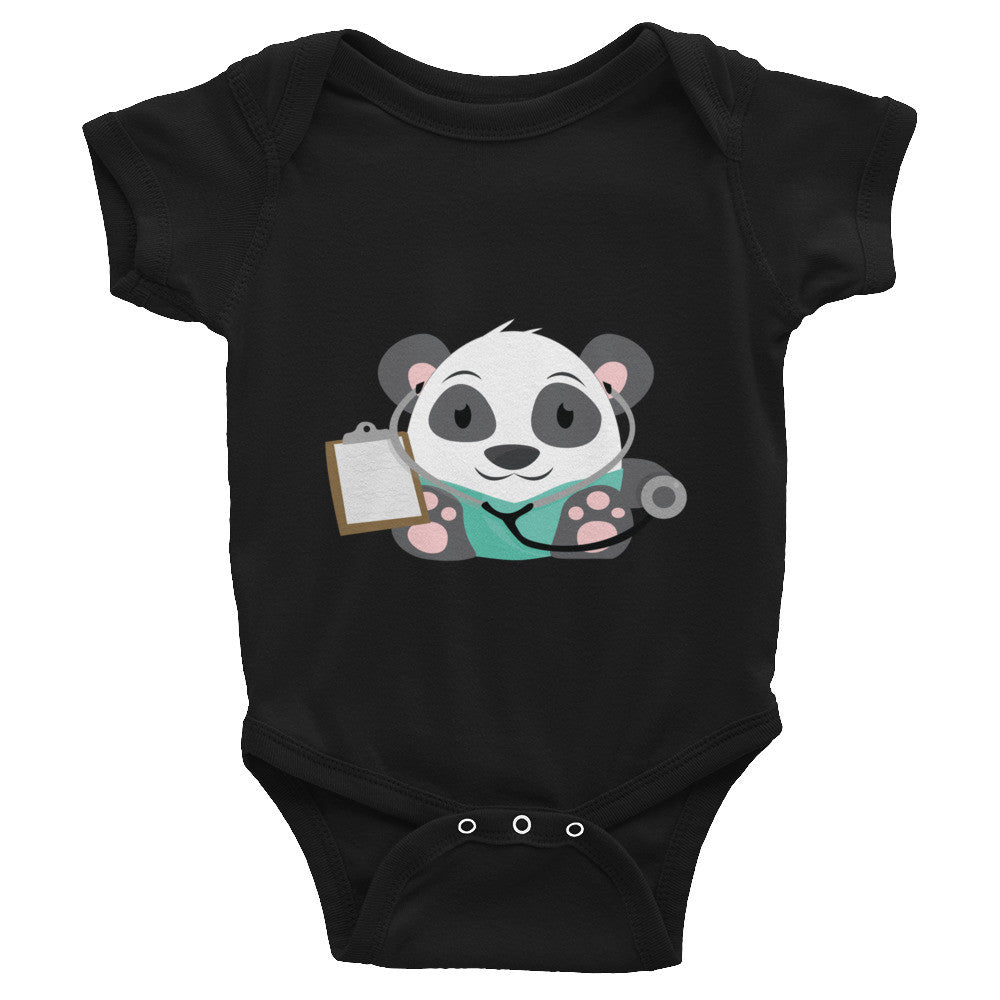 Doctor Panda - Baby short sleeve one-piece