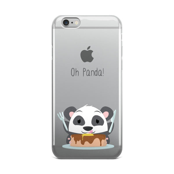 Pancakes Panda - iPhone 5/5s/Se, 6/6s, 6/6s Plus Case
