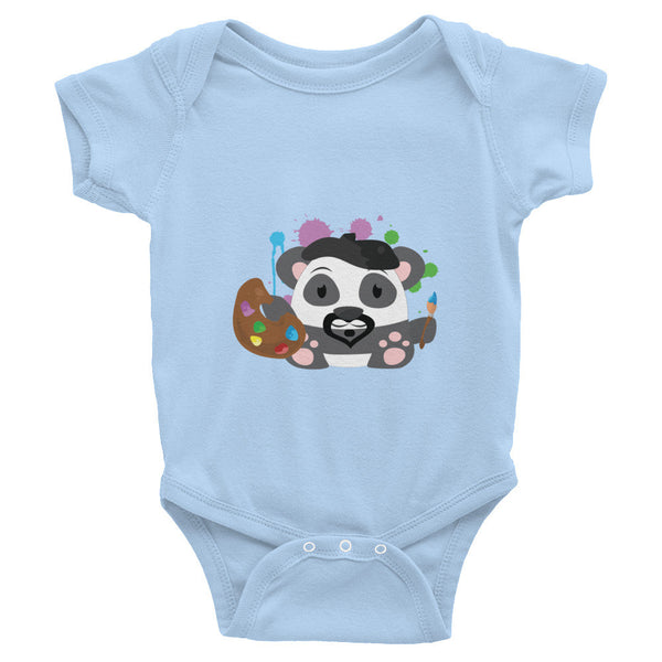 Leonardo Panda - Baby short sleeve one-piece
