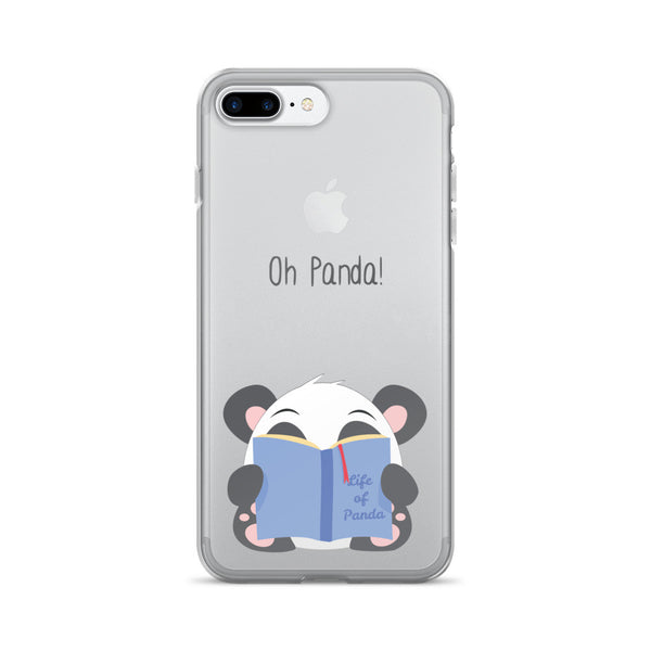 Reading Panda - iPhone 7/7 Plus Case