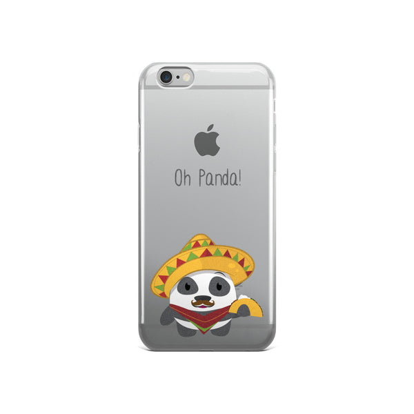 Mexican Panda - iPhone 5/5s/Se, 6/6s, 6/6s Plus Case