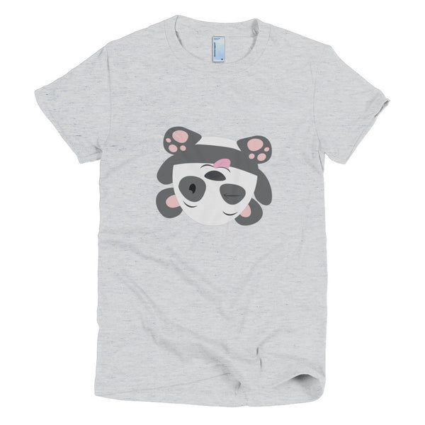 Silly Panda - Short sleeve women's t-shirt