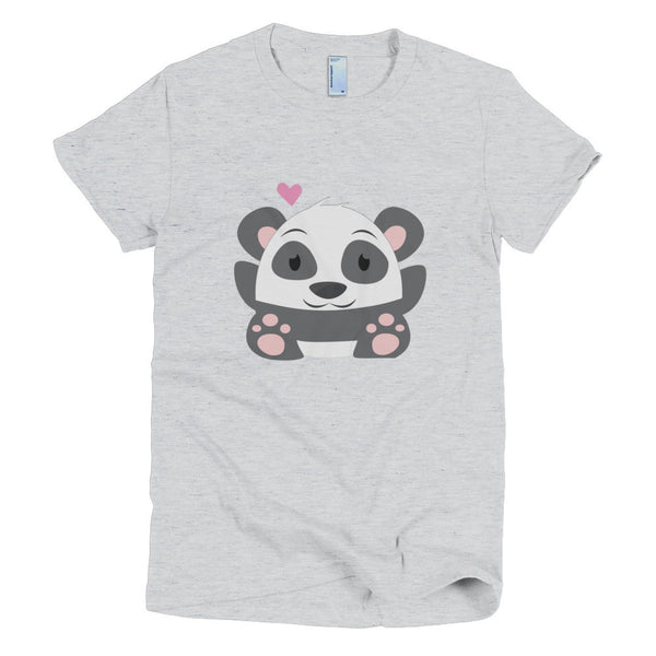 Oh Panda - Short sleeve women's t-shirt