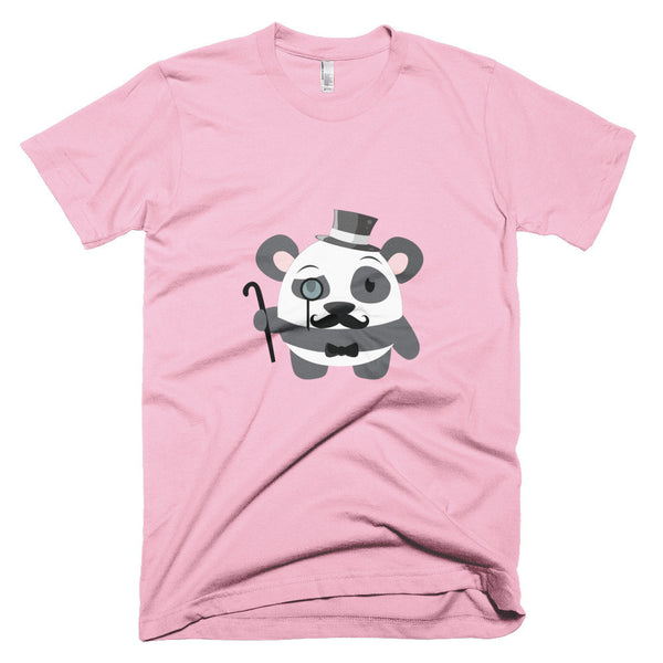 Gentleman Panda - Short sleeve men's t-shirt